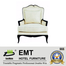 Canapé d'hôtel élégant et blanc de canapé moderne (EMT-SF24)