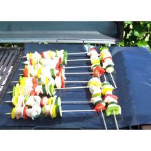 หนักทำอาหารไม่ติดถุง บาร์บีคิวทำอาหารแผ่น เหมาะทั้งหมดแค้มพ์บาร์บีคิว