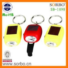 Selling Well LED Solar Key Chain Flashlight