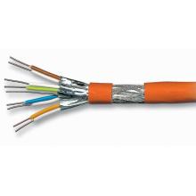 Cat7 Câbles à paire torsadée pour Internet Ethernet avec jaquette LSZH