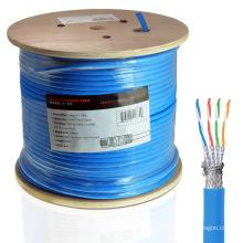 Câble Ethernet Cat7 dans une veste halogène à faible humeur 1000FT