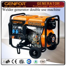 180A 5kw Diesel Welding and Generating Double Use machine for Arc Welder