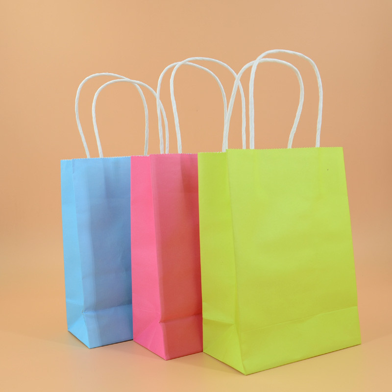 Paper bag with handle-5