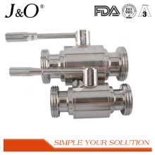 High Comment Saniary Stainless Steel Thread-Male Ball Valve