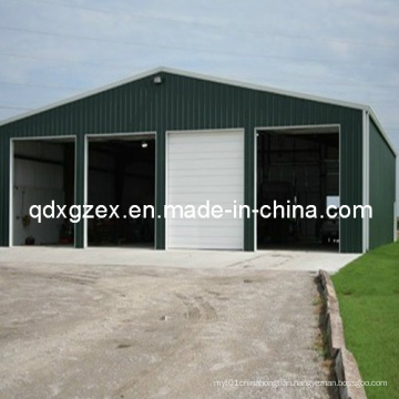 Fast Assemble Recyled Prefab Steel Structure Warehouse (SS-15252)