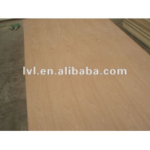 red oak face and back furniture plywood panel