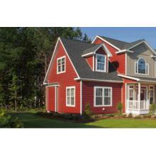 Casa de aço clara do jardim para casas pré-fabricadas das casas de campo