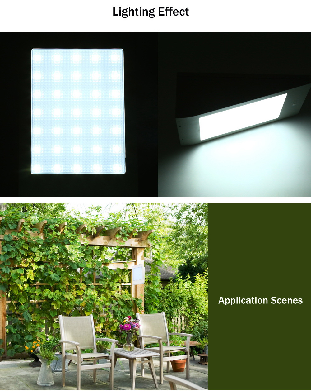 Solar Outdoor Wall Lights