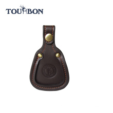 TOURBON new hunting Shooting Shotgun rifle gun leather Barrel Rest Toe Pad