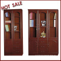 hot sale classical model office bookcase/ bookshelf for staff