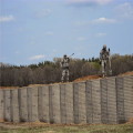 Military+sand+wall+hesco+barrier