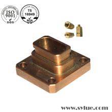 Piezas de cobre de ISO que muelen Cu Plated