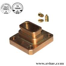ISO Copper Milling Parts Cu Plated