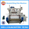 Machine de fabrication de films étirables à trois couches et étirable