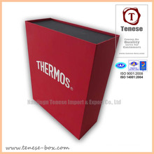 Fashion Rectangular Packaging Gift Box with Foiling Logo