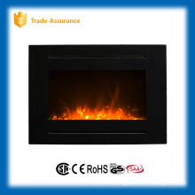 "40"" wall mounted imitation fire wall hanging fireplace with remote control"