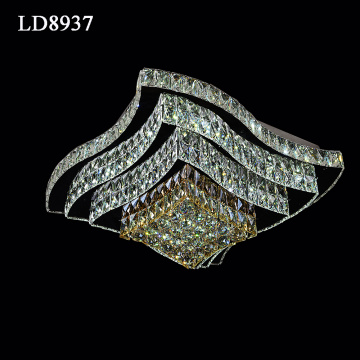 Warna Menukar LED Chandelier Lampu Loket
