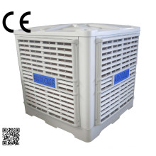 Ventilateur de refroidissement par air évaporatif mural de 3 Kw 30000 M3 / H mural