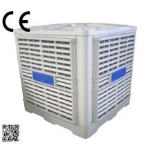 Montado na parede 3 Kw 30000 M3 / H ventilador de ar evaporativo