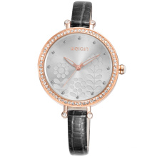WEIQIN brand W40011 small band quartz wrist ladies watches with crystal arround dial&bezel
