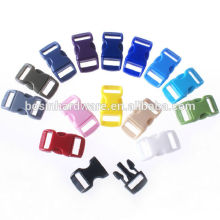 Fashion High Quality Colored Plastic Side Release Buckle