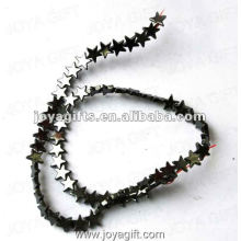 """10MM Loose Magnetic Hematite Star Beads 16"""""""