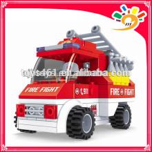 101 pieces blocks toy truck blocks fire fighting truck toy