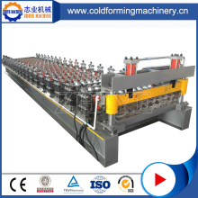 Lembaran Steel Roof Panel Roll Roll Forming Machine