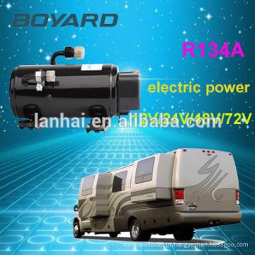 R134a boyard 12 volts geladeira compressor dc ar condicionado para bateria powered ar condicionado