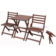 Meranti Outdoor / Gartenmöbel Set - Bistro Set
