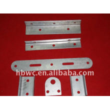 steel cross arm for overhead power line fitting