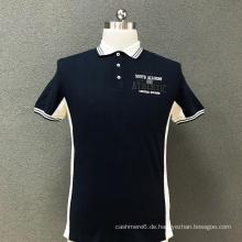 Polo-T-Shirt mit Baumwoll-Print für Herren