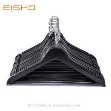 EISHO Basic Black Wooden Men Suit Jacket Hanger