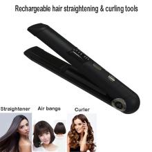 Herramientas recargables para alisar y rizar el cabello