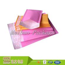 Großhandel billig maßgeschneiderte A2 A3 A4 A5 farbige Pastage Versand Jiffy Bag / Bubble Mailer gepolsterte Umschläge Größen