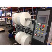 Aluminum Foil Tape/Kraft Paper Tape/Double-Sided Tape/EVA Foam/PVC/OPP/Pet Slitting Machine, Roll Material Slitter