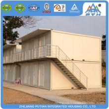 Maison préfabriquée modulaire modulaire au 2ème étage