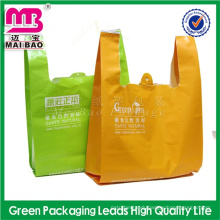 100% pure virgin raw material tshirt ldpe market bags