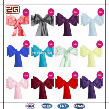 Wholesale Cheap Price Wedding Decoration Satin Sash/ Chair Cover Sashes