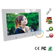 "multi functional 10.2"" digital photo frame with rechargeable battery"