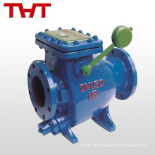 tiny drag slow shut check valve-api lift check valve flanged type