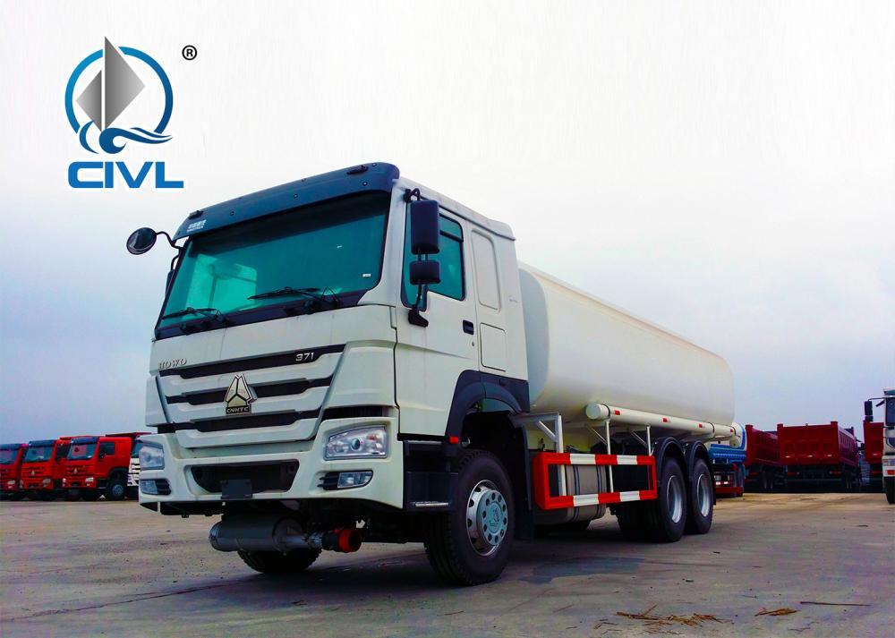 Howo 6x4 Fuel Tanker Truck 18