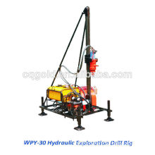 drilling rig WPY-30 Hydraulic Exploration Drill RigFor Mountainous Area