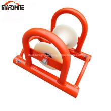 Rodillo de cable de aluminio de polea de cable de línea recta