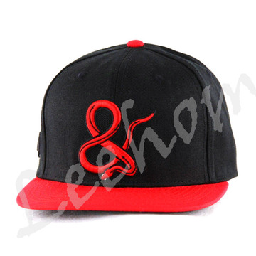 Flat Brim Snapback Baseball Sports Caps avec broderie 3D