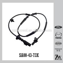 Nuevo alambre automático SA00-43-73X del ABS del sensor del ABS de la rueda delantera de la llegada para Mazda Haima 484Q