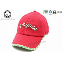 Bunte kundenspezifische Breathable Sun-Hut-Sport-Golf-Kappe