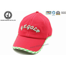 Colorful Custom Breathable Sun Hat Sports Golf Cap