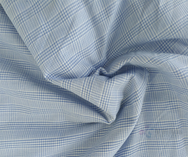 Plain Striped Soft 100% Cotton Fabric Textile1