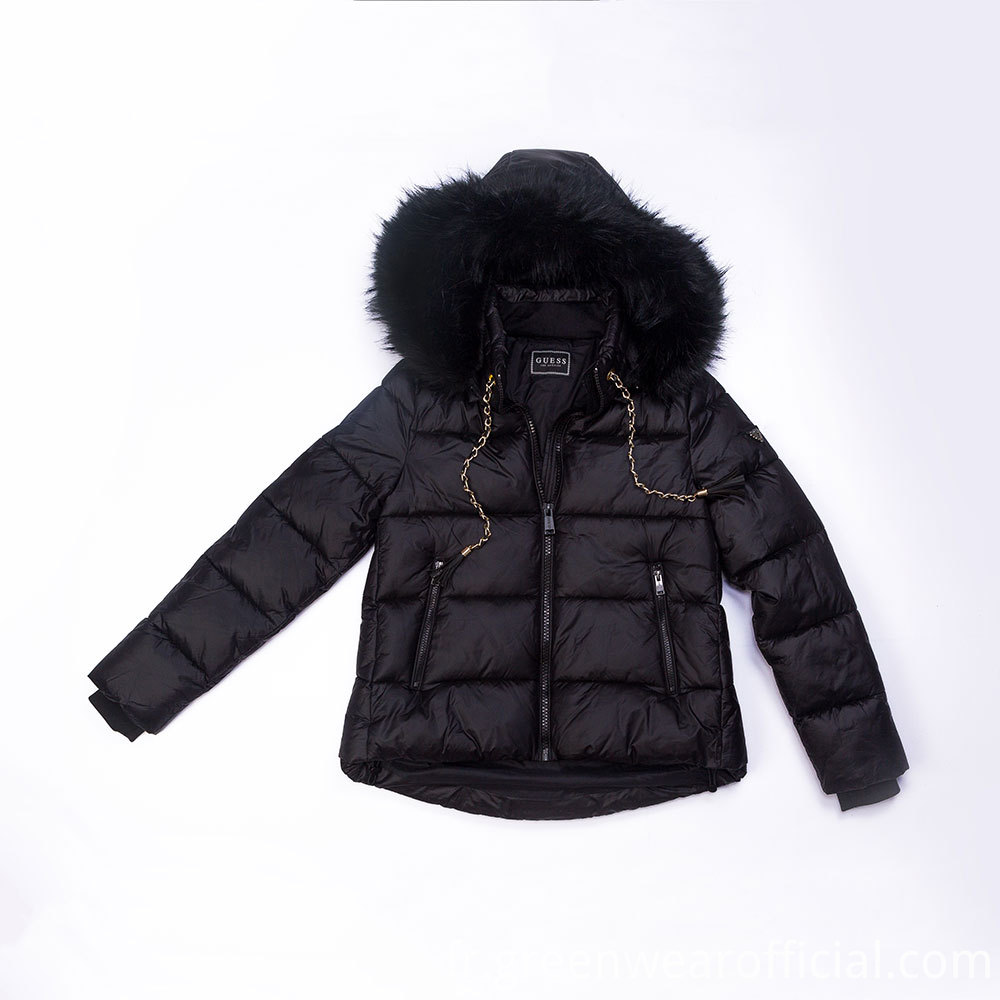 Light Fake Down Jacket